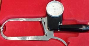Fettklype til å måle kroppens fett %