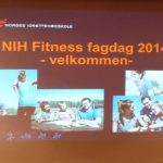 NIH  Fitness fagdag 2014