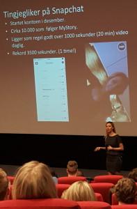 Anette Marie - Blogger - størst på Snap i Norge.