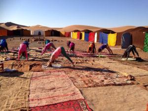 Magnhild Yoga Marokko