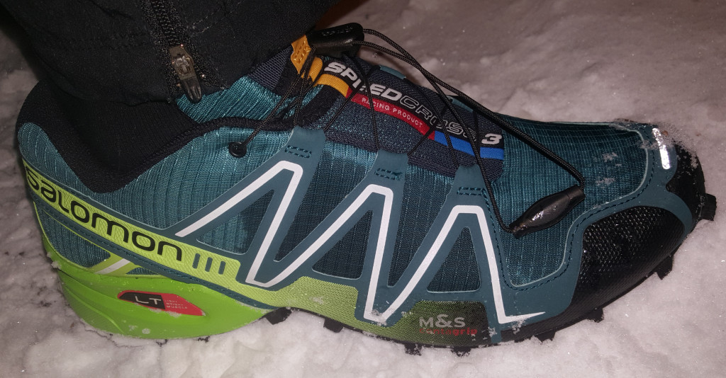 Salomon Speedcross 3 ute snø